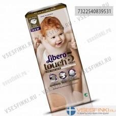 Подгузники Libero Touch №5 (10-14кг) 44шт