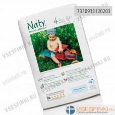 Подгузники-трусики Naty №4 (7-18кг) 36шт