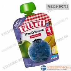 Piltti (черника,банан,яблоко) с 4 мес 90гр