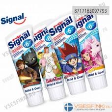 Детская зубная паста Signal Junior Mild&Cool 75мл