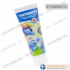 Детская зубная паста Smurfs  3-6 лет 75мл