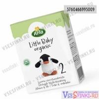 Готовая молочная смесь Arla LittleBaby-2 200мл