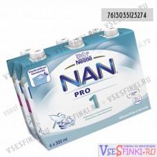 Nestle Nan-1 6x500 мл