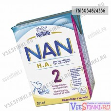 Nestle Nan 200 мл H.A.2