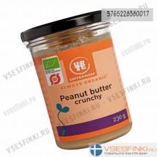 Масло Urtekram арахисовое 230гр (Органическое сырое)