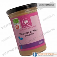 Масло Urtekram арахисовое 230гр (Органическое)
