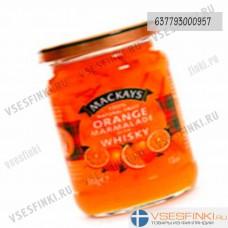 Мармелад Mackays (апельсин) 340гр (Виски из миндаля)