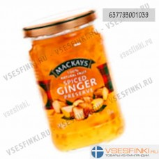 Варенье MACKAYS имбирное  340 гр