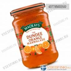Мармелад Mackays (апельсин) 340 гр
