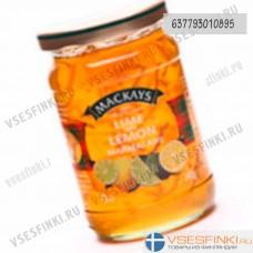 Мармелад Mackays (лайм-лимон) 340гр