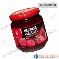 Варенье Saarioinen клубнично-малиновое  500 гр