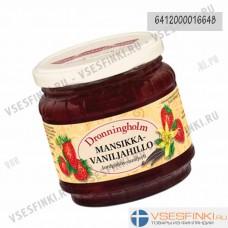 Варенье Dronningholm клубнично-ванильное  440 гр