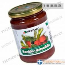 Варенье Meritalo клубника-ревень  410 гр