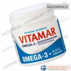 Мультивитамины Vitamar Omega-3+ADE 100 шт