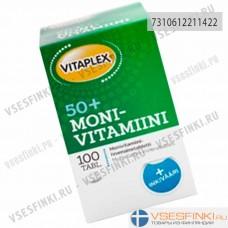 Витаминно-минеральный комплекс Vitaplex Monivitamiini 50+ 100таб