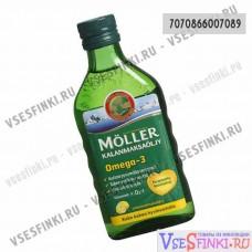 Пищевая добавка Moller рыбий жир (Лимон)-250мл