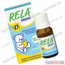 Пищевая добавка: Rela Drops D3 10мл