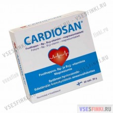 Витамины: Cardiosan для сердца 60-табл