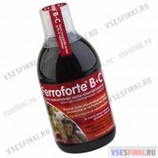 Витамины: Ferroforte B+C 500мл