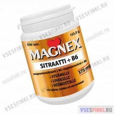 Витамины MAGNEX SITRAATTI + B6 100 табл