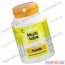 Витамины: Multi Tabs Family 190 табл