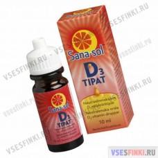 Витамины Sana-sol D3 капли 10 мл