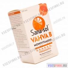 Витамины Sana-sol Vahva B 200 табл