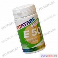 Витамины Vitatabs E 50 витамин Е 60 табл