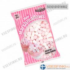 Мини-зефир белый и розовый Fiddes Payne 150гр