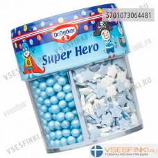 Кондитерская посыпка Dr.Oetker Super Hero 76гр