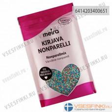 Кондитерская посыпка Meira Kirjava nonparell (шарики) 60гр