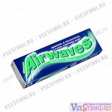 Жевательная резинка Airwaves (ментол и эвкалипт) 14гр