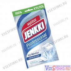 Жевательной резинки Jenkki (ментол) 90 гр
